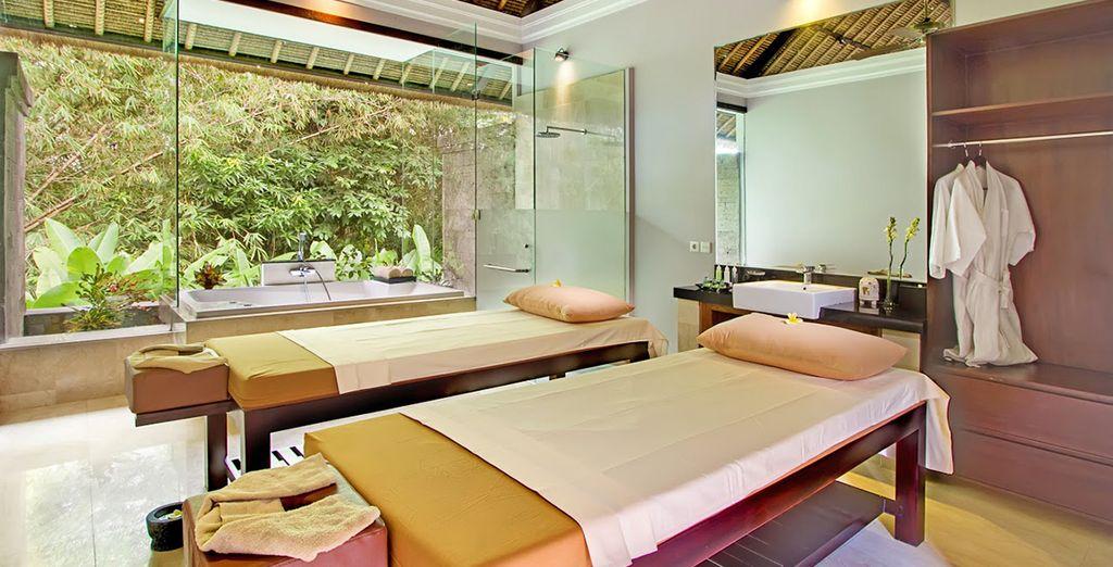Sie haben auch die Möglichkeit sich eine balinesische Massage zu gönnen