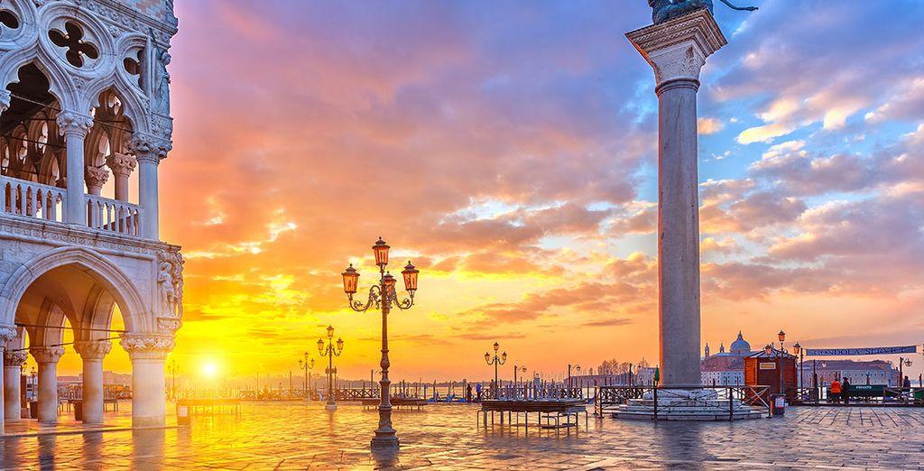 Wie wäre es mit einer romantischen Kurzreise nach Venedig?