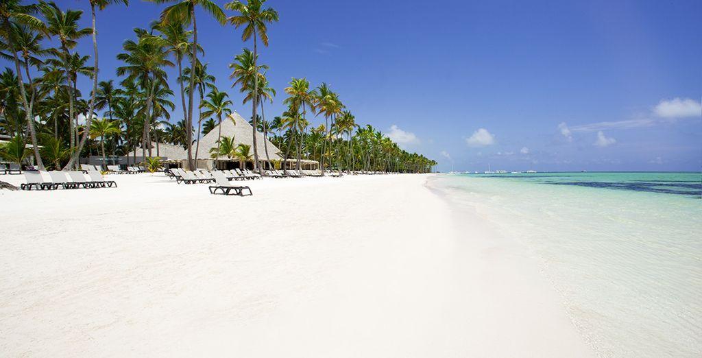 An einem der schönsten Strände der Insel gelegen, dem Playa Bavaro