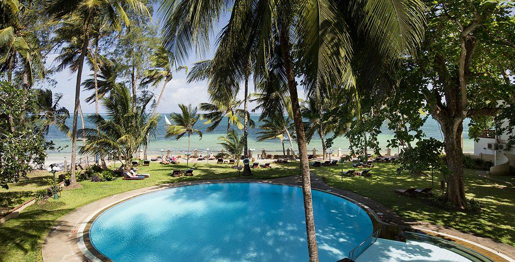 Die charmante Adresse lautet: Neptune Beach Resort 4*