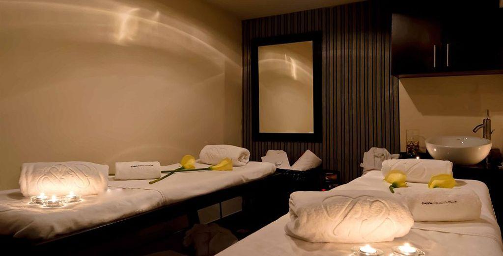 Besuchen Sie während Ihres Aufenthaltes den Spa des Hotels und genießen Sie eine entspannende Behandlung!