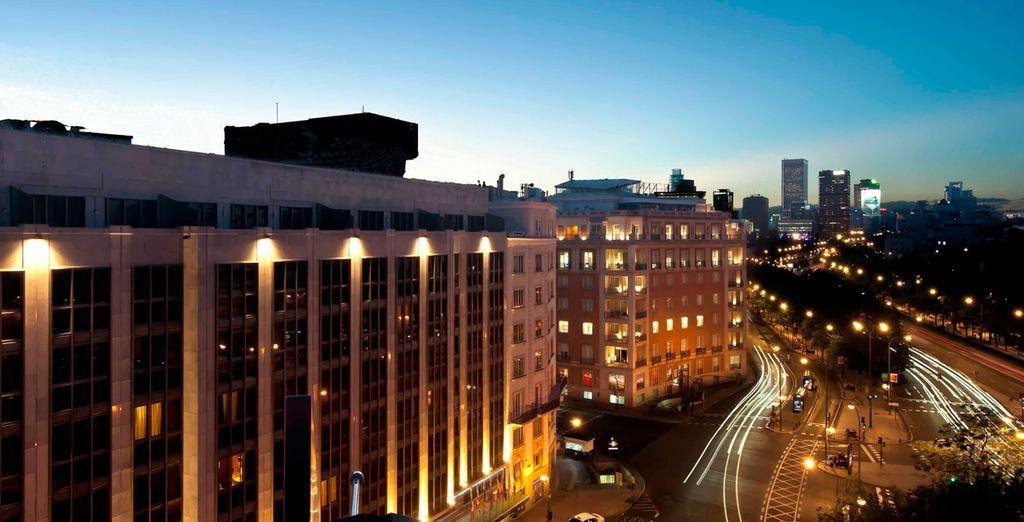 Im 5* Hotel Miguel Angel!