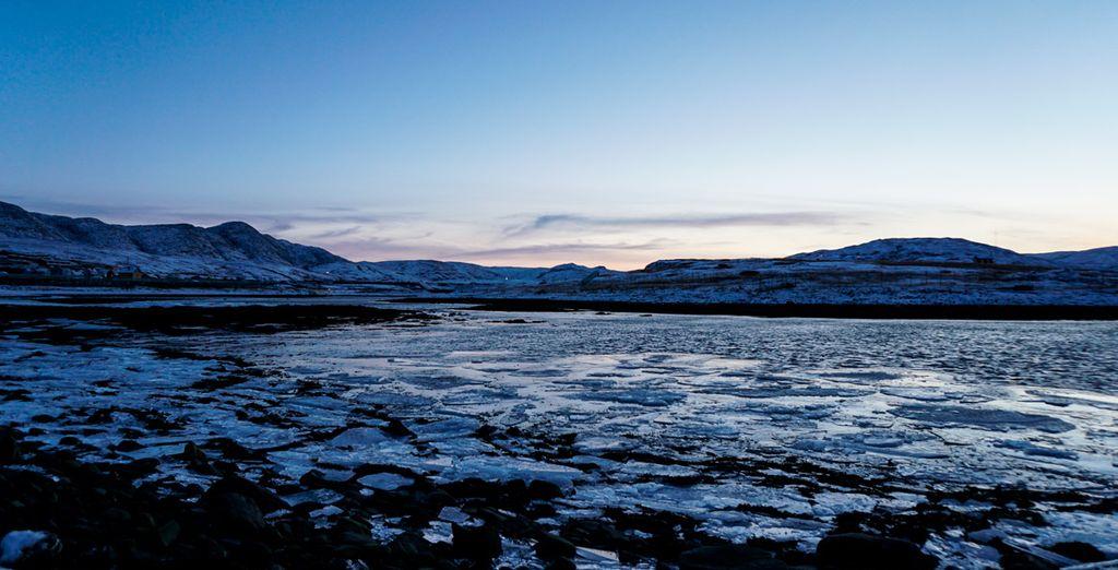 Dort machen Sie sich auf die Suche nach der Königskrabbe, in der Barentssee