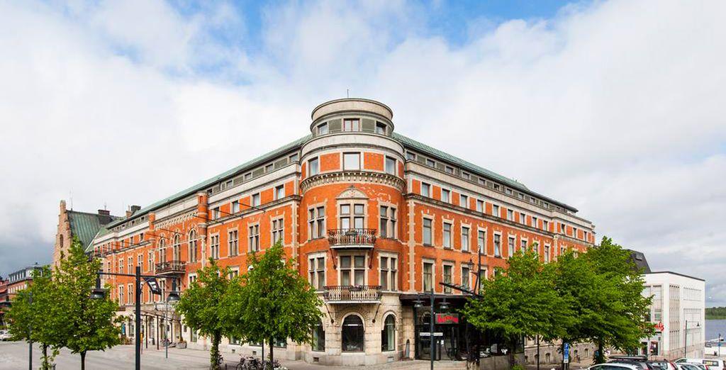 In Schweden übernachten Sie im Elite Lulea Hotel