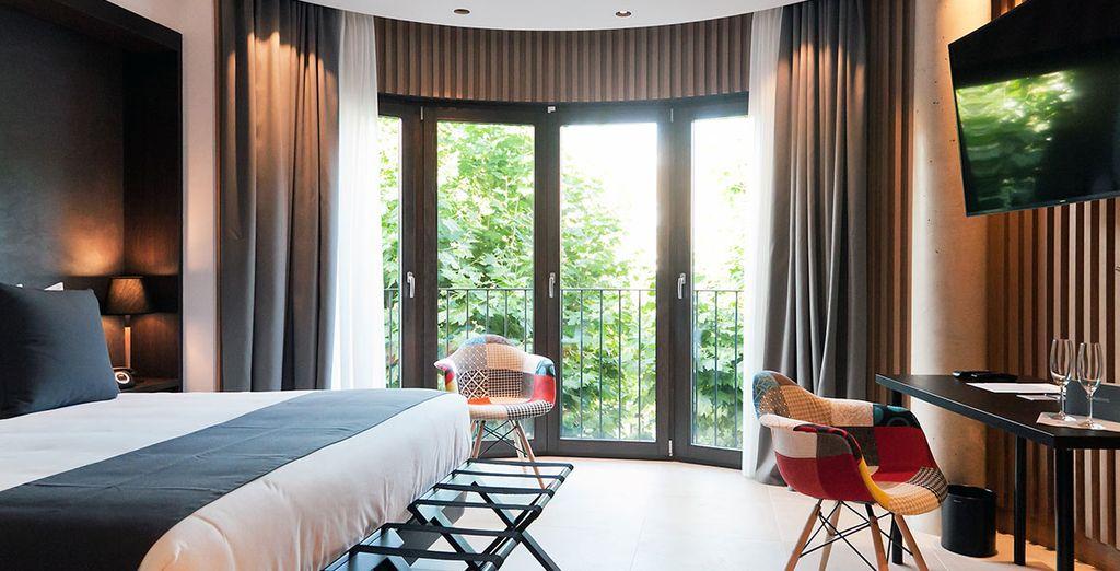 Willkommen im avantgardistischen Vila Arenys Hotel 4*