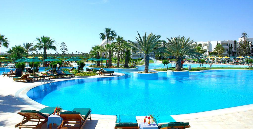 Herzlich willkommen im Hotel Djerba Plaza 4*