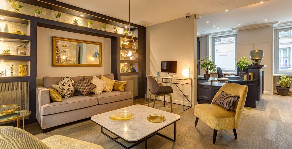Das charmante Boutique-Hotel bietet eine intime Abgeschiedenheit und geschmackvolles, modernes Dekor