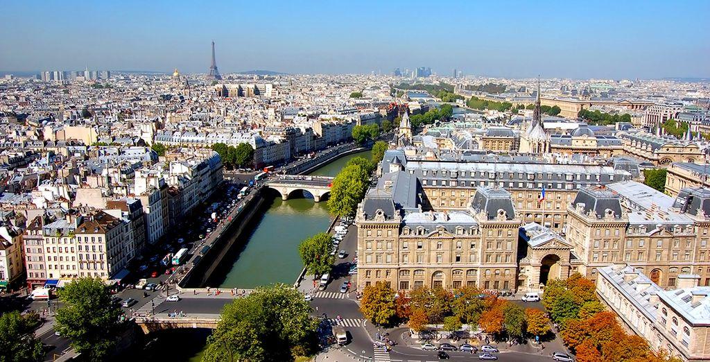 Entdecken Sie die Hauptstadt Frankreichs!