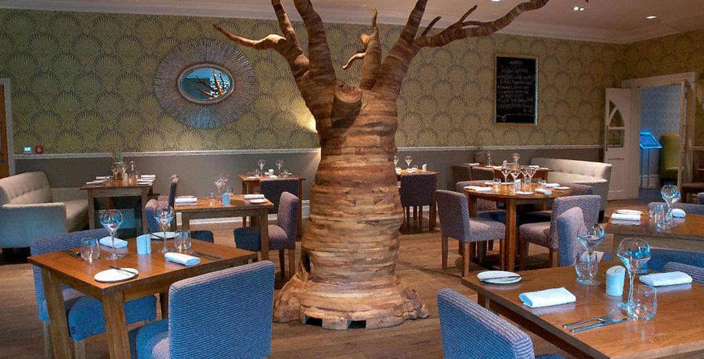 Das 2AA Awarded Arbor Restaurant serviert frische saisonale und traditionelle Küche