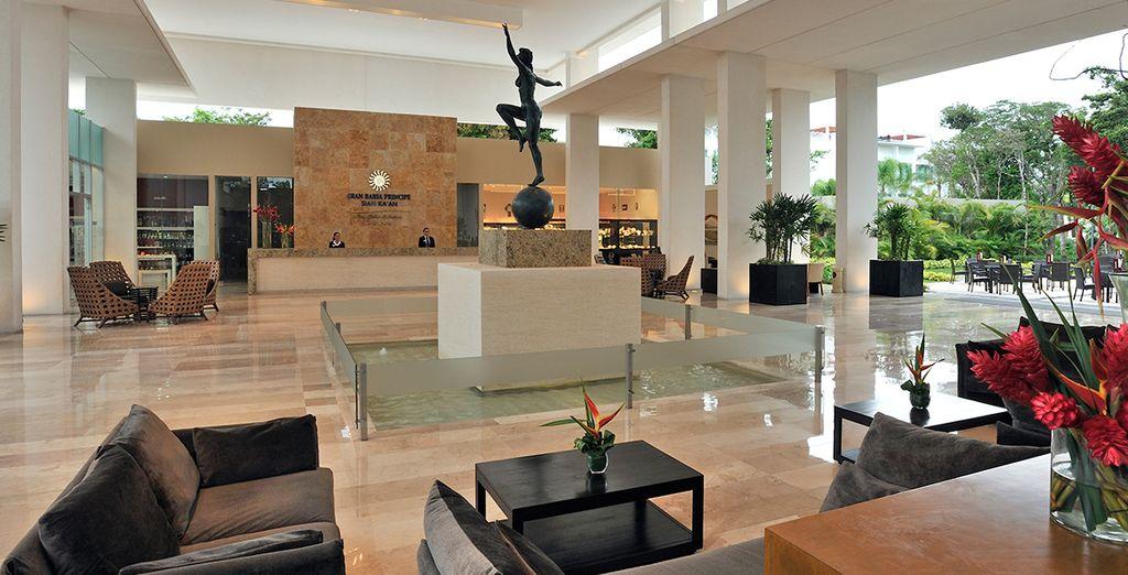 Ein modernes Hotel in minimalistischem Stil erwartet Sie