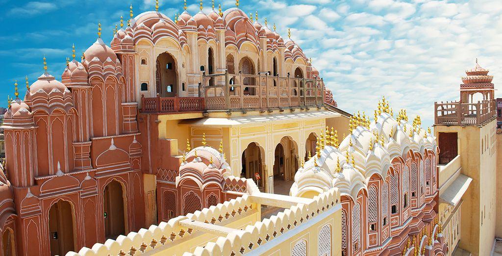 Besuchen Sie Jaipur, die rosane Stadt