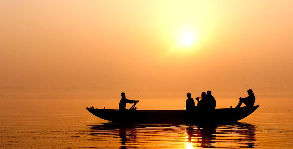 Erleben Sie eine Bootsfahrt