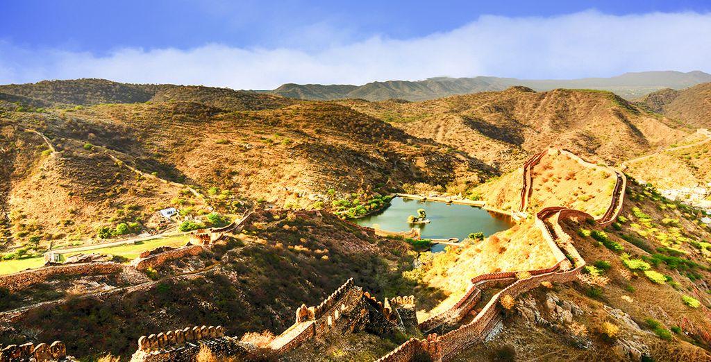 Erleben Sie außerordentliche Landschaften