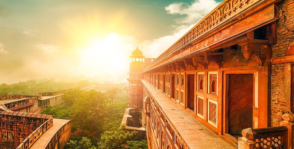 Wenn Sie sich für 7 Nächte entscheiden, endet sie in Agra