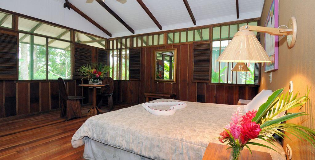 Entspannen Sie sich in Superior und Standard Zimmer