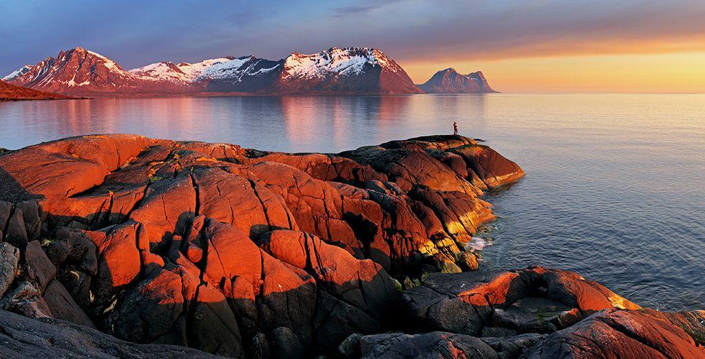 Genießen Sie die schöne Natur Norwegens