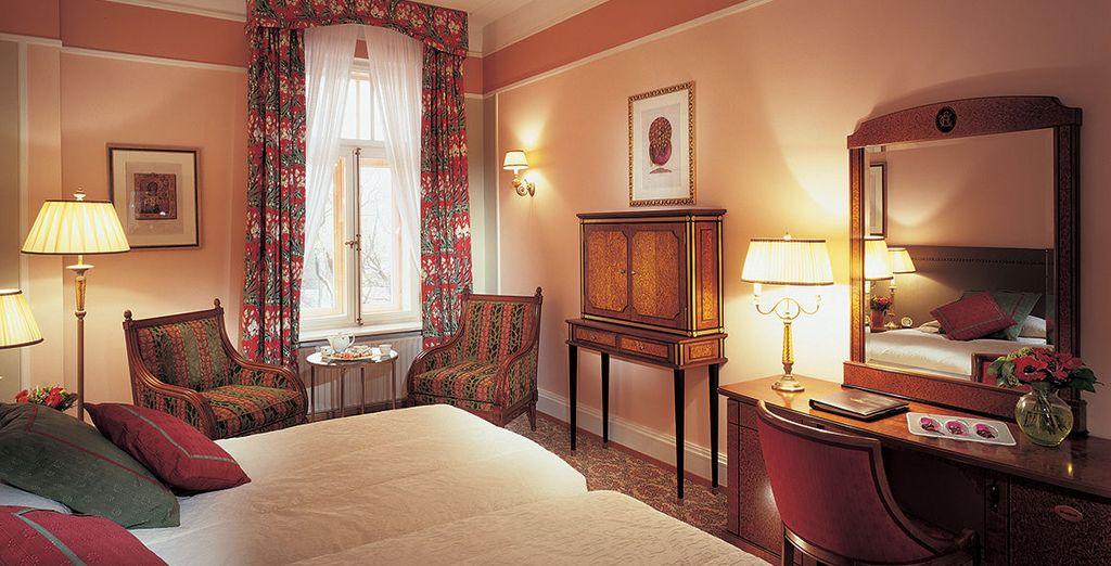 Entspannen Sie sich in Ihrem luxuriösem Zimmer