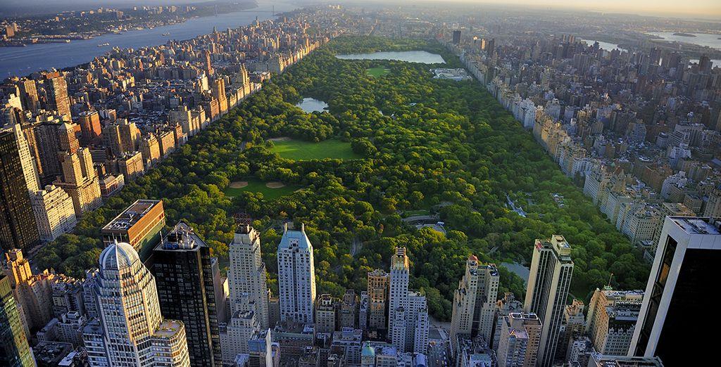 In der Nähe des Central Parks!
