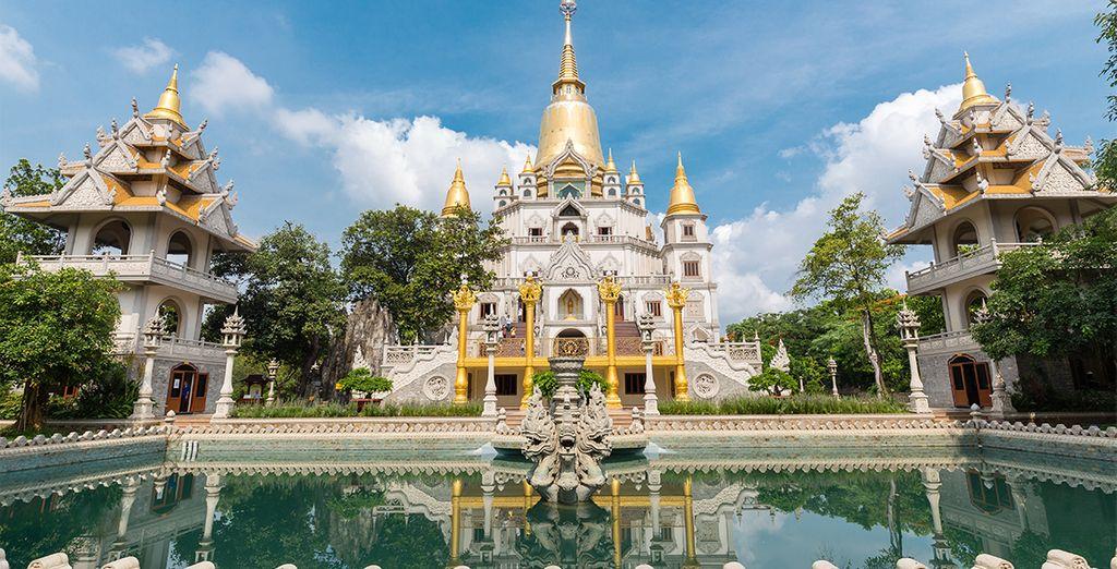 ...bis in die Hauptstadt Saigon