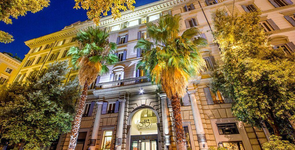 Willkommen im Hotel Savoy 4*