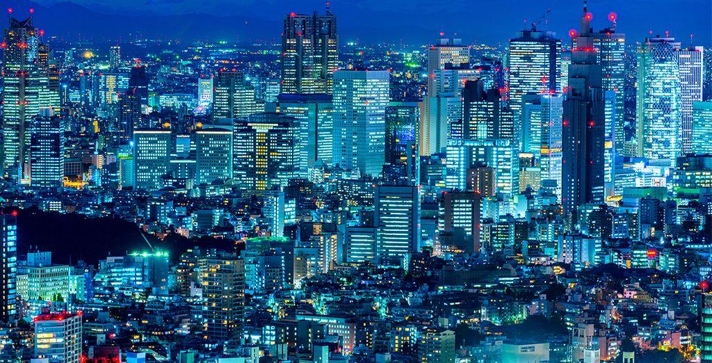 Los geht es in Tokio...
