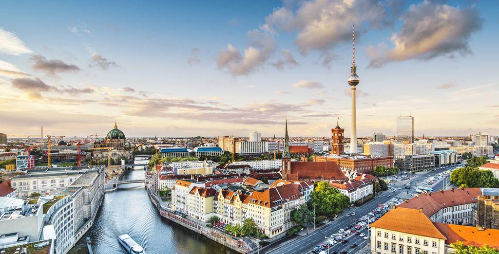 Wir wünschen Ihnen einen schönen Aufenthalt in Berlin!