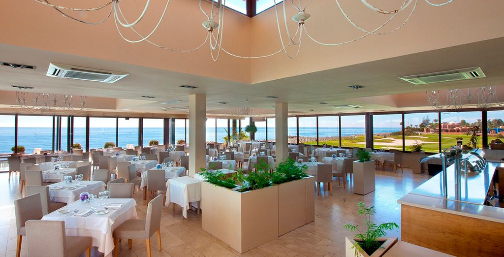 Genießen Sie eine exquisite mediterrane Küche