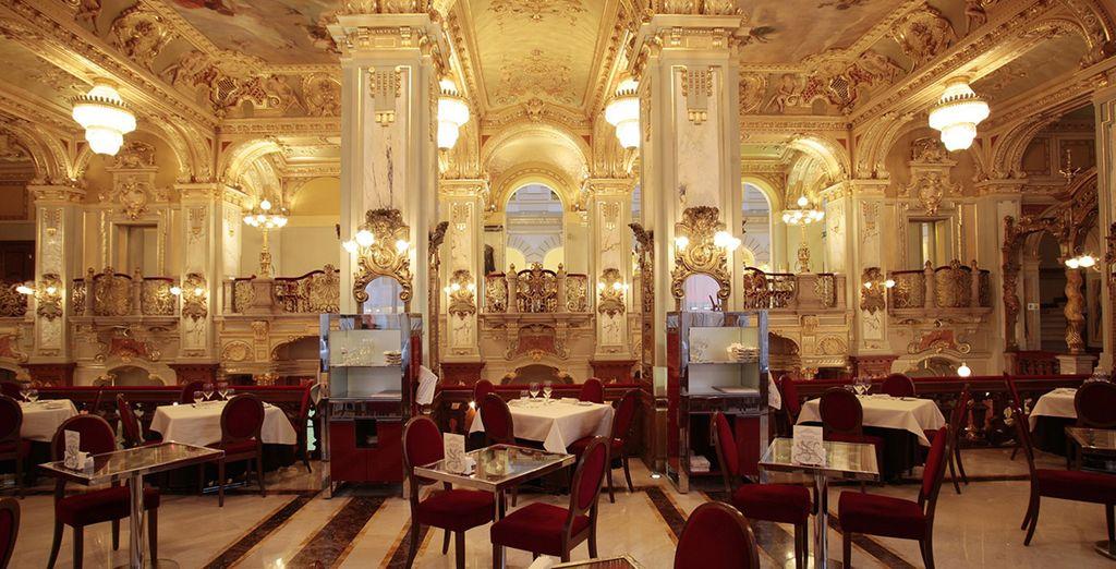 ... einem der schönsten Cafés weltweit!