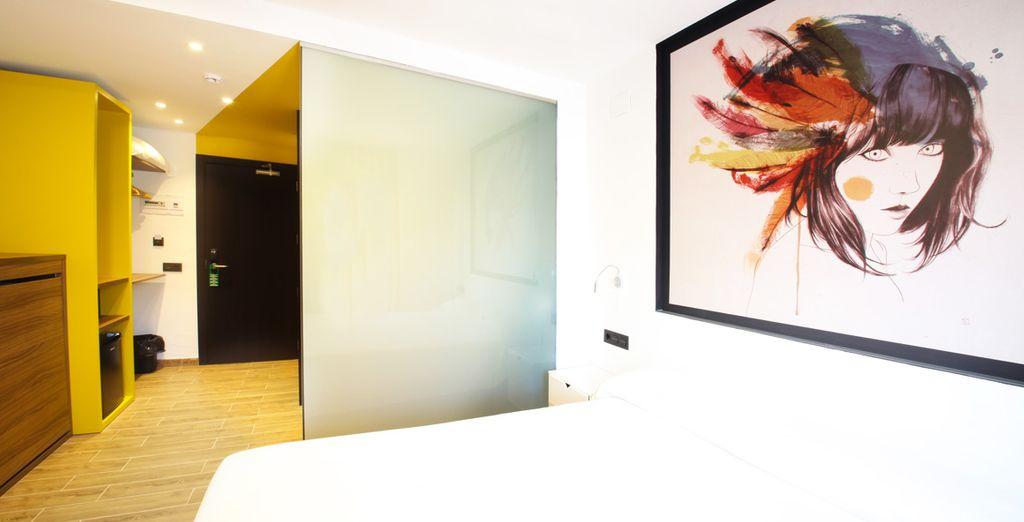 Ihr Zimmer ist modern und komfortabel eingerichtet