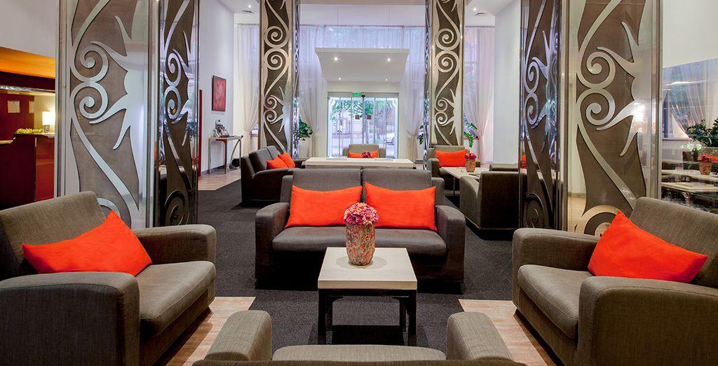 Ein Hotel mit Stil erwartet Sie....