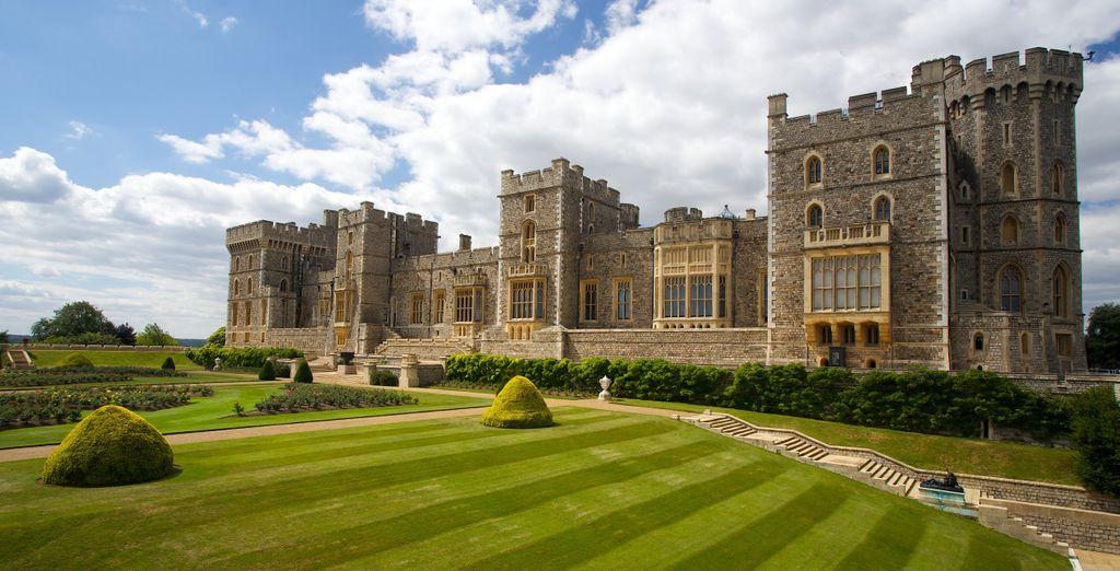 Entdecken Sie das Schloss Windsor und die reiche britische Kultur