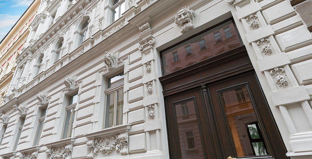 Herzlich Willkommen im 4* H7 Palace in Prag, das erste 4*-Apparthotel der Stadt