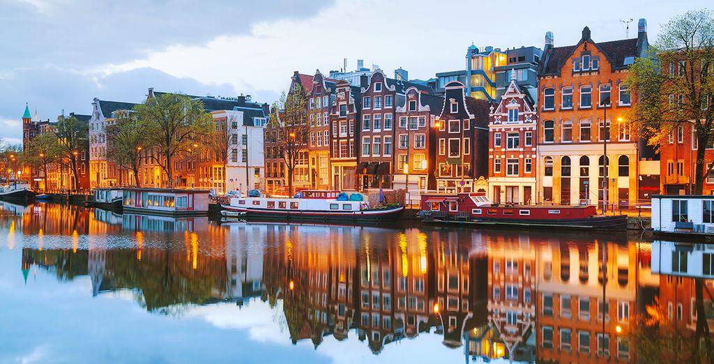 Und entdecken Sie Amsterdam...