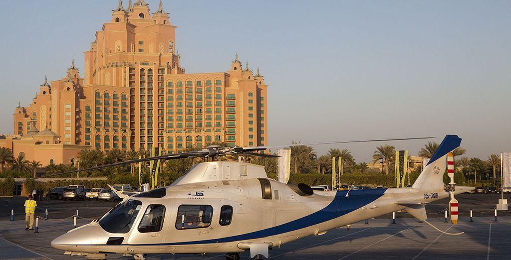 Lernen Sie Dubai aus der Luft kennen