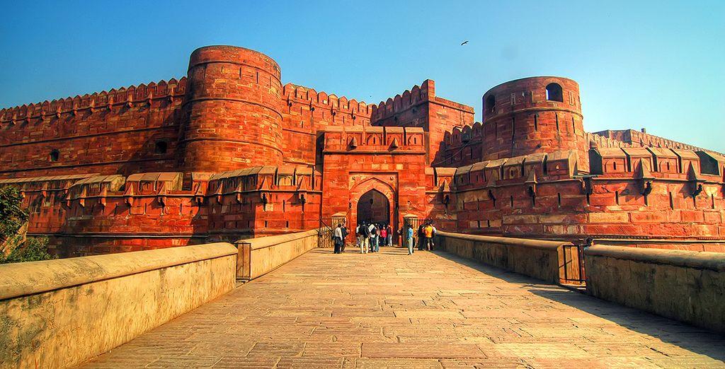 Und anschließend nach Agra, einem UNESCO-Weltkulturerbe
