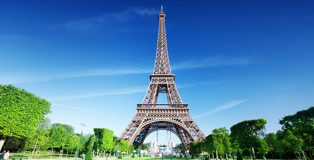 Und den Eiffelturm