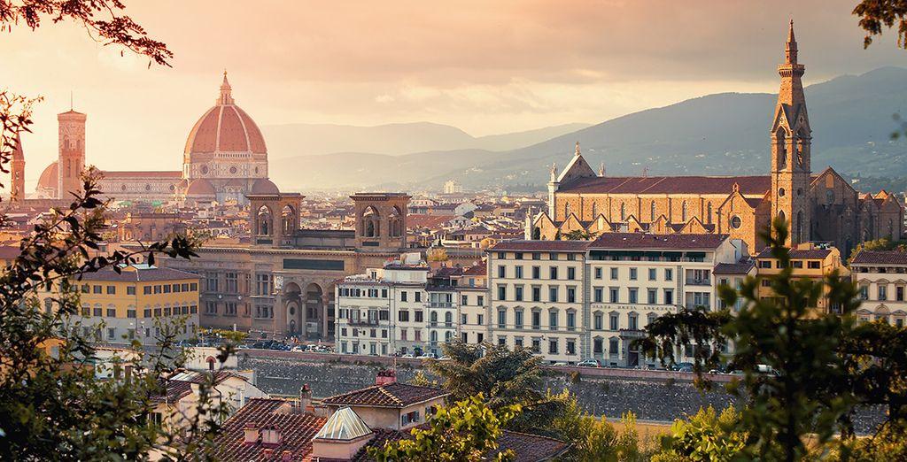 Wir wünschen Ihnen einen angenehmen Aufenthalt in Florenz!