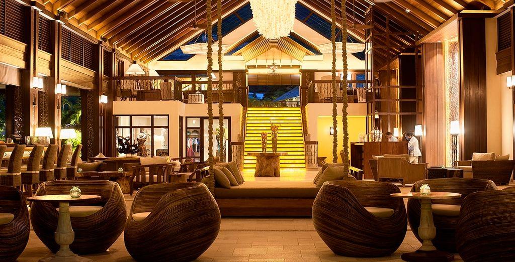 Ein einzigartiges Hotel mit exklusiver Dekoration