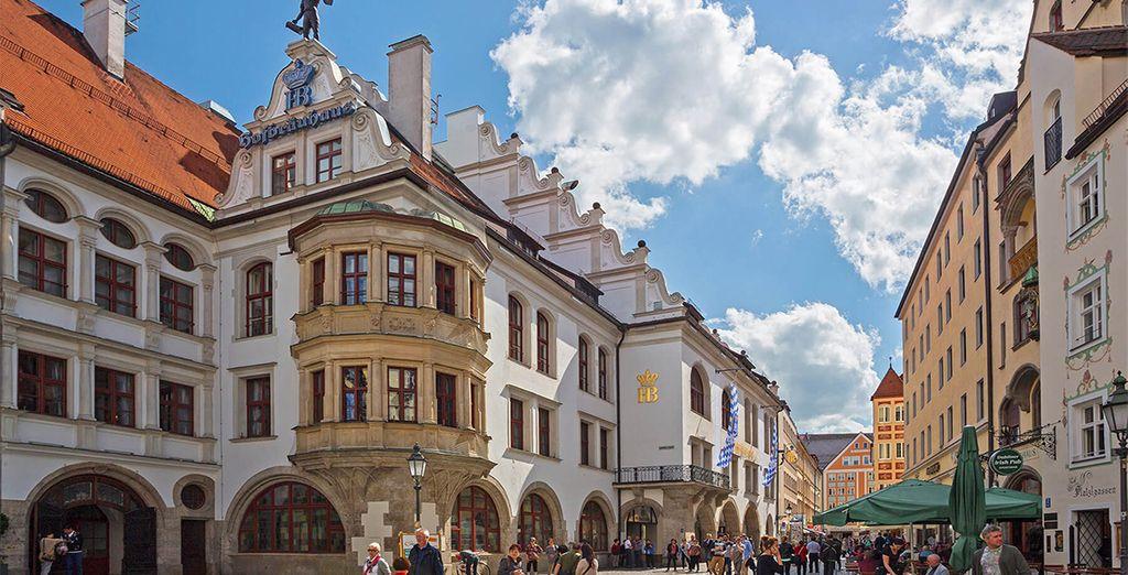 Buchen Sie ein Luxushotel im Herzen von München