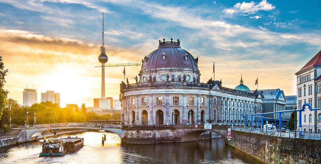 Entdecken Sie Berlin bei einem romantischen Städtereisen