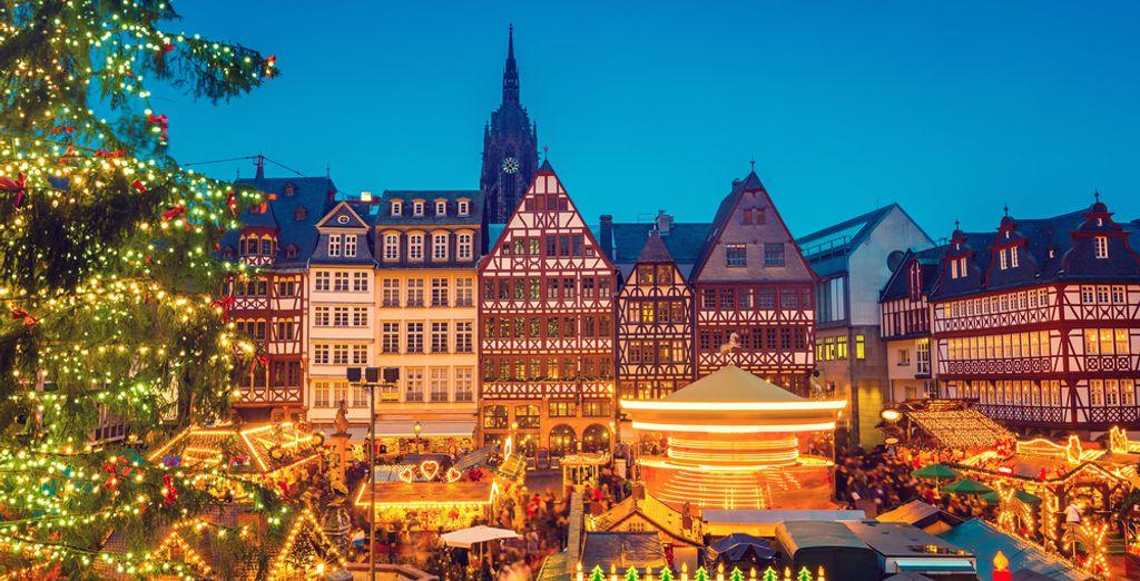 Entdecken Sie Deutschlands berühmtesten Balkon, der Römer