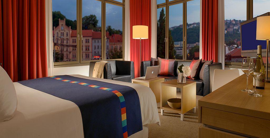 Park Inn Hotel Prag 4*