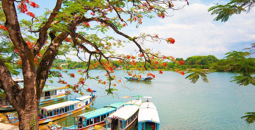Entdecken Sie Hanoi, Vietnam, ein asiatisches Land.