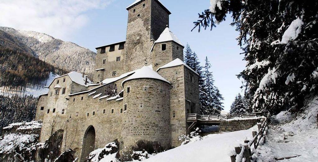 Besuch der Südtiroler Burg