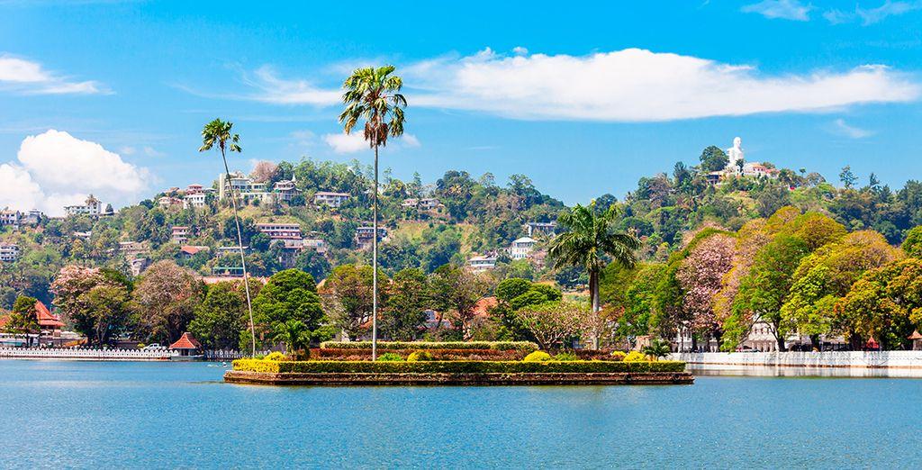 Besuchen Sie Kandy, die Hauptstadt von Sri Lanka