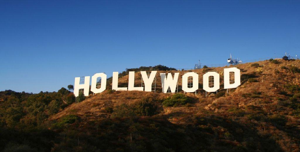 Kommen Sie dem berühmten Hollywood-Schild näher