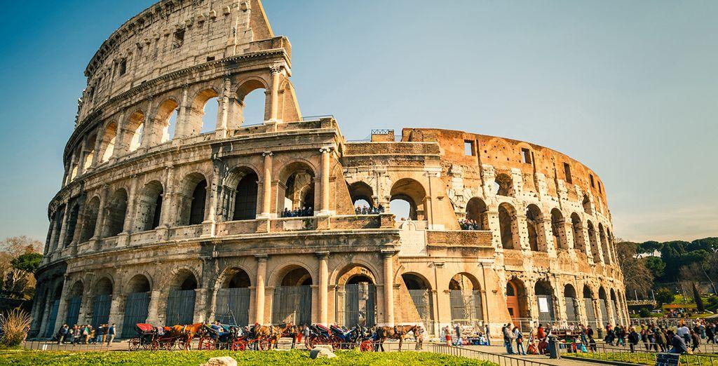 Die besten Sehenswürdigkeiten in Rom: das Kolosseum