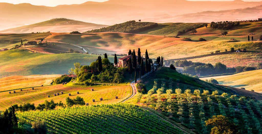 Wir begrüßen Sie in unserem Reiseführer für die Toskana