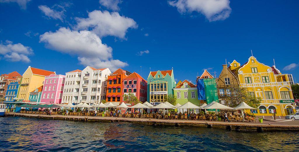Das historische Zentrum von Willemstad auf Curaçao