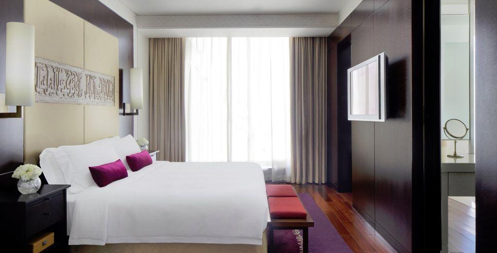Optional können Sie sich für ein Premium Zimmer entscheiden
